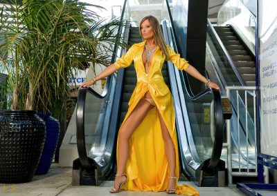 BL TW Yellow Celebrity Gown #4049