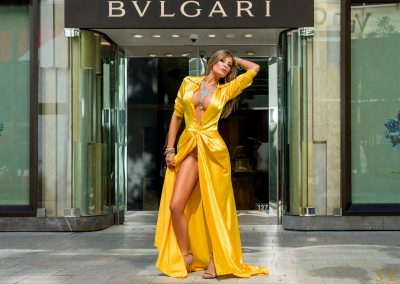 BL TW Yellow Celebrity Gown #4126