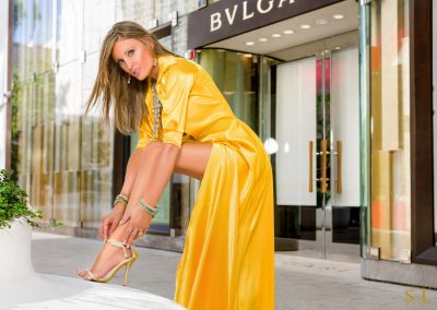 BL TW Yellow Celebrity Gown #4377