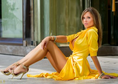 BL TW Yellow Celebrity Gown #4057